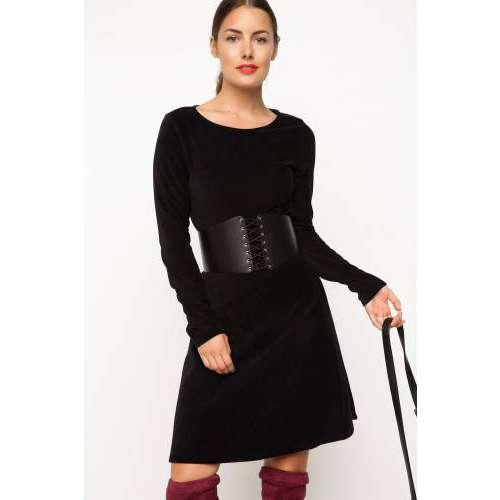 Defacto Kadife Elbise