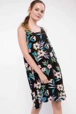Kadın Desenli Kısa Elbise G8669AZ.18HS.BE2