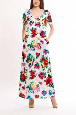 Kadın Beyaz Elbise Jcw10