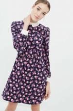 Kadın Ekru Desenli Elbise 7KAL86004IW