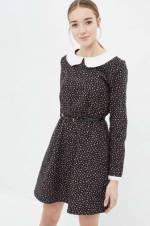 Kadın Ekru Desenli Elbise 7KAL86952IW