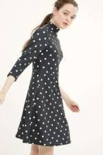 Kadın Marine Desenli Elbise 7KAL81491JK