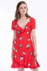 Kadın Baskılı Elbise 130583-26345