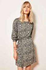 Çok Renkli Desenli Elbise TCLAW19YD0083