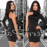 Fantazi Erotik İç Giyim Terry Pau Tp101061 Asimetrik Mini Elbise Bayrama Özel